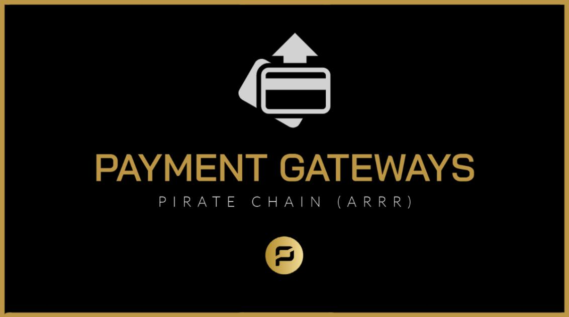 ARRR Payment Gateways